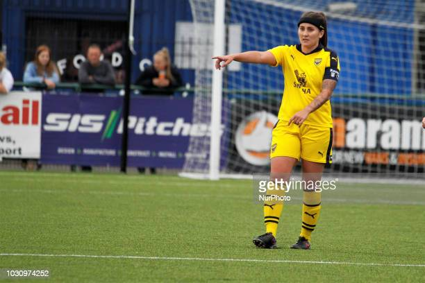 Oxford's Lauren Haynes during FA Women's National League South match between Oxford United Women and Watford FC Ladies at Oxford City England on 8...