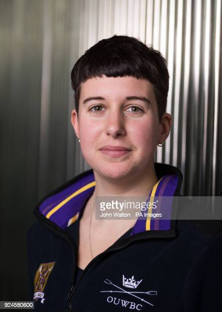 Oxford's women's Alice Roberts during the Boat Race crew announcement and weigh in media day at City Hall London PRESS ASSOCIATION Photo Picture date...