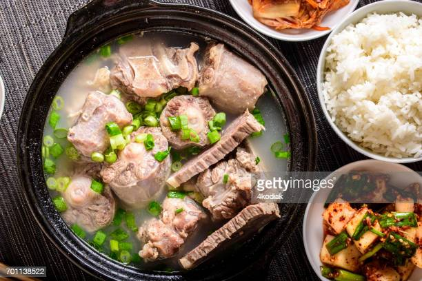 Oxtail Soup with Scallion