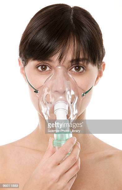 oxygen therapy - oxygen mask stock pictures, royalty-free photos & images