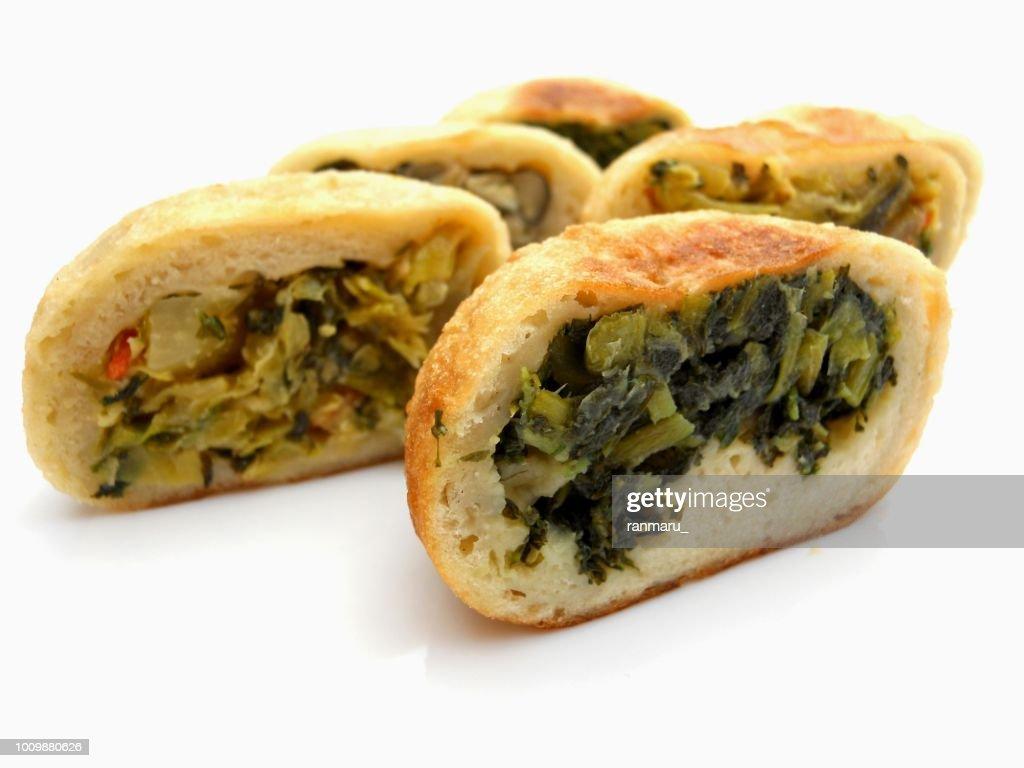 oyaki grilled buns : Stock Photo