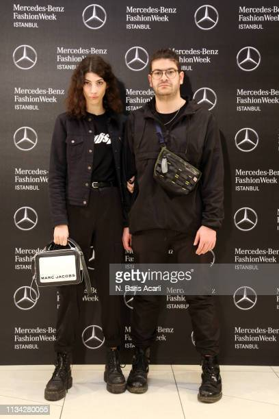 Oyku Bastas and Furkan Temir attend the MBFW Istanbul kickoff on March 06 2019 in Istanbul Turkey