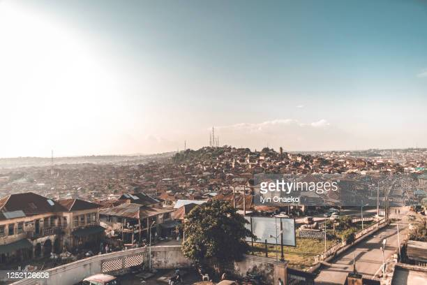 oyo town - nigeria stock pictures, royalty-free photos & images