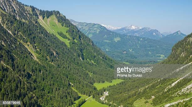 Oytal valley the Allg_u alps, Bavaria.