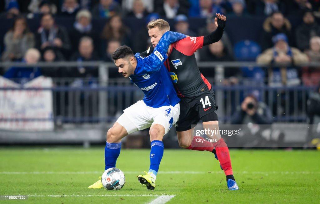 FC Schalke 04 v Hertha BSC - DFB Pokal : News Photo