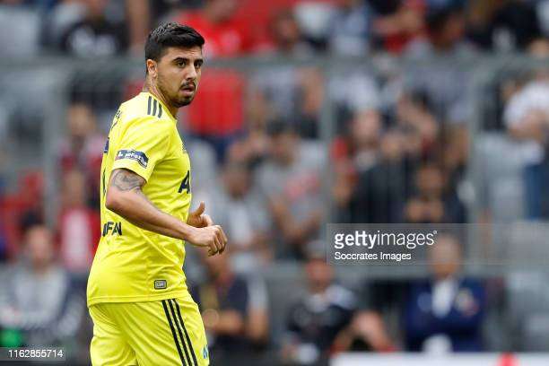 Ozan Tufan of Fenerbahce during the Audi Cup match between Real Madrid v Fenerbahce at the Allianz Arena on July 31 2019 in Munich Germany