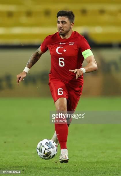 Ozan Tufan of Turkey controls the ball during the international friendly match between Germany and Turkey at RheinEnergieStadion on October 07 2020...
