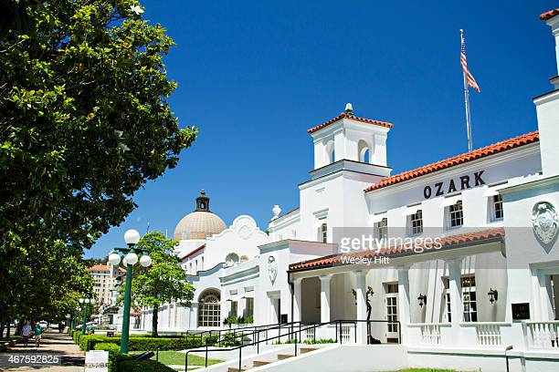 Ozark Bath House in Hot Springs, Arkansas