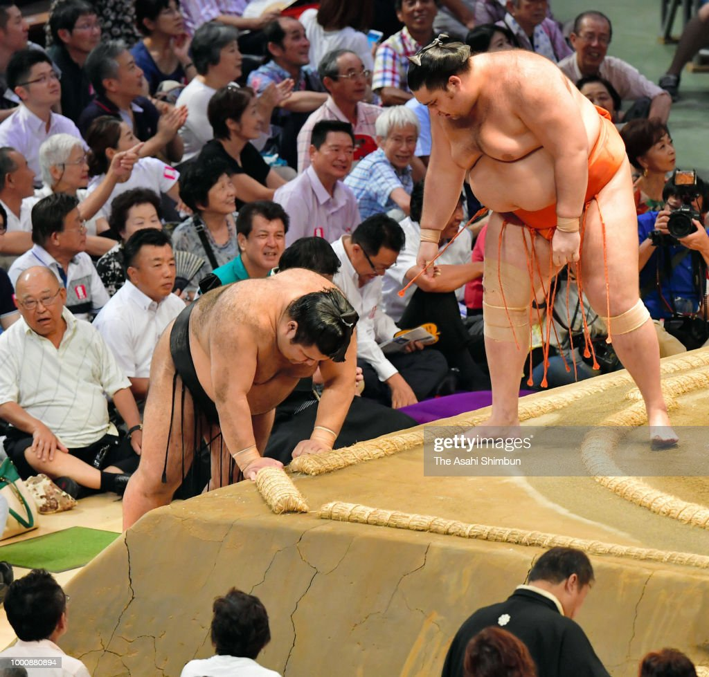 Grand Sumo Nagoya Tournament - Day 10