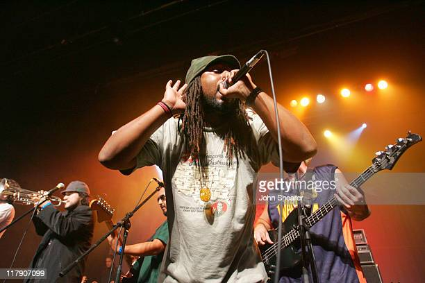 Ozomatli during MusiCares Presents Sublime Tribute Concert at the Henry Fonda Theater in Hollywood October 24 2005 at Henry Fonda in Hollywood...