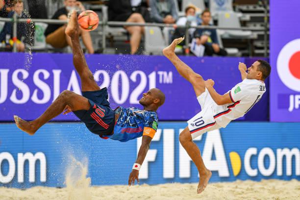 RUS: Japan v USA - FIFA Beach Soccer World Cup 2021