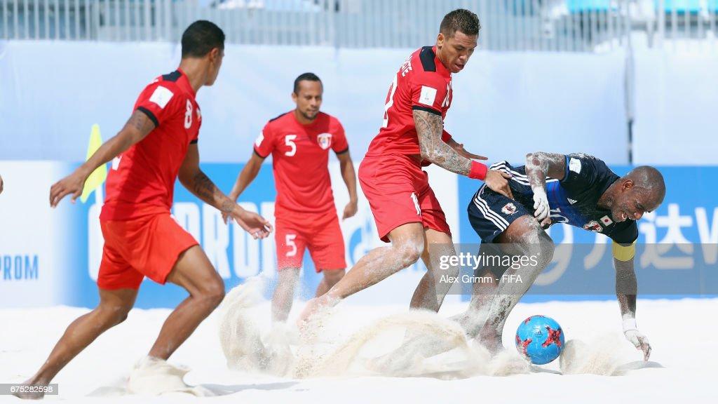 Tahitiv Japan - FIFA Beach Soccer World Cup Bahamas 2017 : ニュース写真