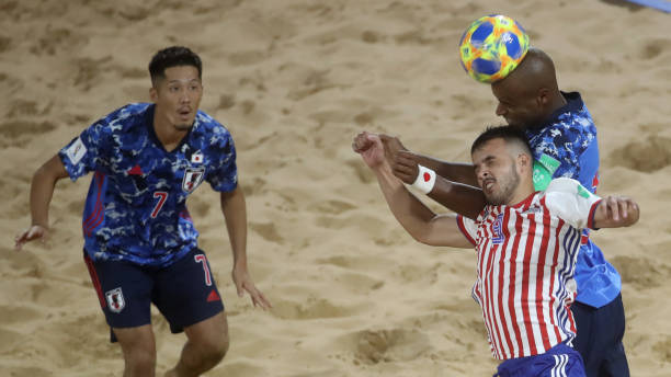 PRY: Paraguay v Japan - FIFA Beach Soccer World Cup Paraguay 2019