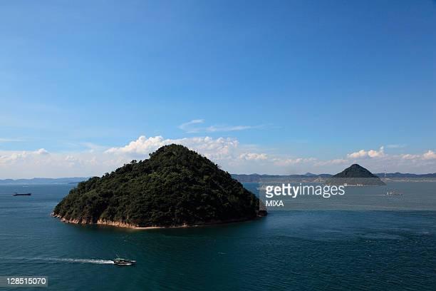 ozuchi-jima and kozuchi-jima, takamatsu, kagawa, japan - kagawa ストックフォトと画像