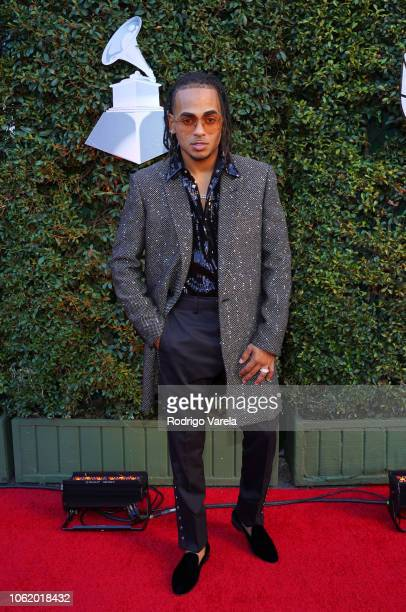 Ozuna attends the 19th annual Latin GRAMMY Awards at MGM Grand Garden Arena on November 15 2018 in Las Vegas Nevada