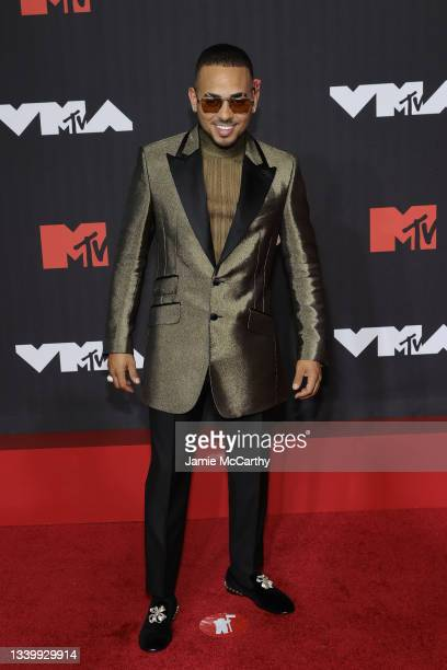 Ozuna attends the 2021 MTV Video Music Awards at Barclays Center on September 12, 2021 in the Brooklyn borough of New York City.