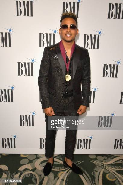 Ozuna attends the 26th Annual BMI Latin Awards on March 19 2019 in Los Angeles California