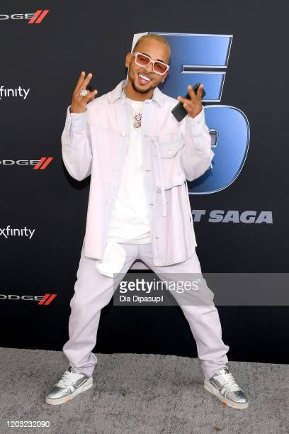 Ozuna attends The Road to F9 Global Fan Extravaganza at Maurice A Ferre Park on January 31 2020 in Miami Florida