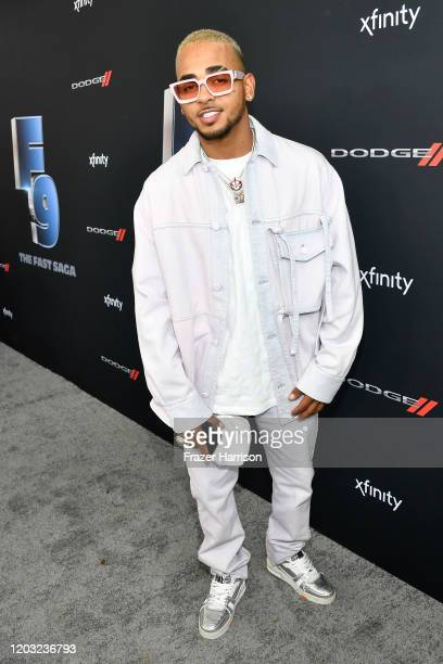 Ozuna attends Universal Pictures Presents The Road To F9 Concert and Trailer Drop on January 31, 2020 in Miami, Florida.
