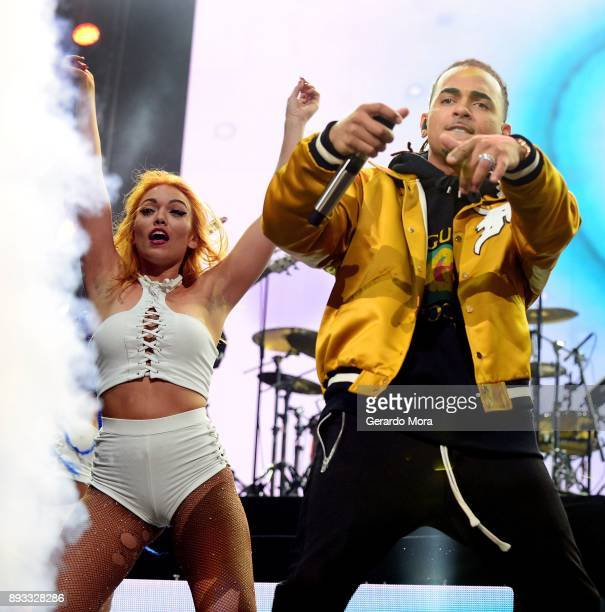 Ozuna performs at Amway Center on December 14 2017 in Orlando Florida