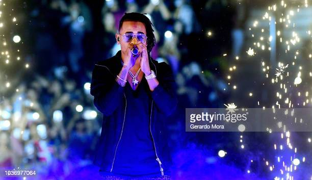 Ozuna performs at Amway Center on September 20 2018 in Orlando Florida