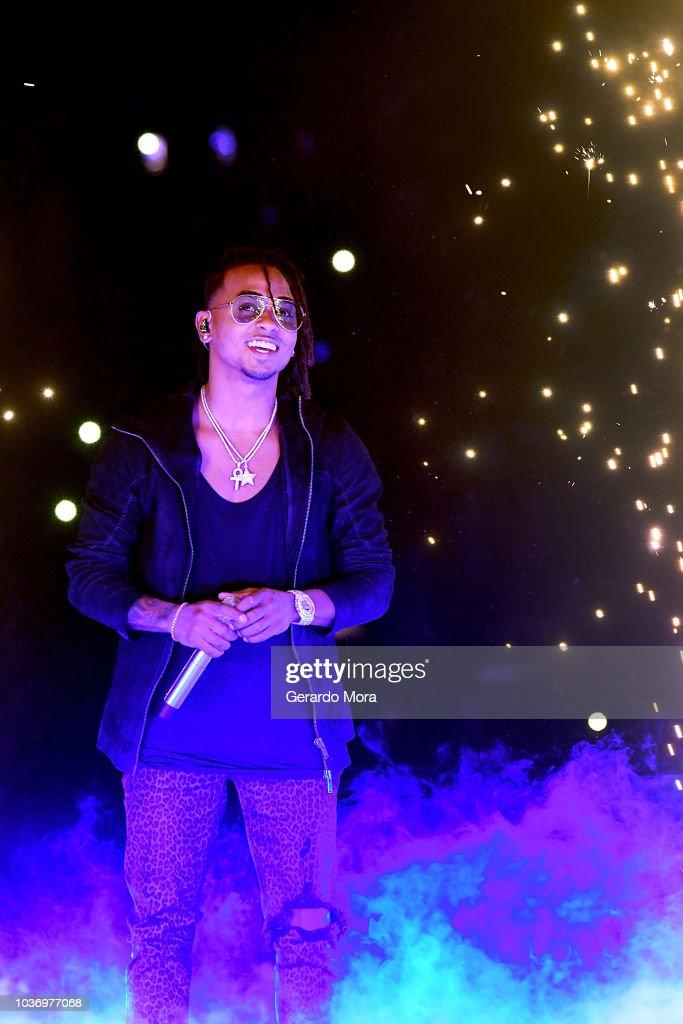 Ozuna In Concert - Orlando, Florida