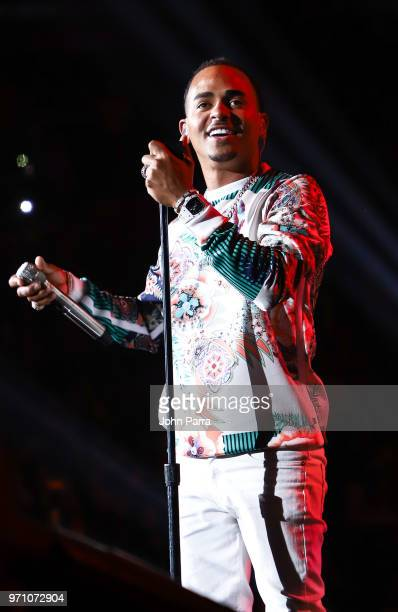 Ozuna performs at Mix Live Presented by Uforia at American Airlines Arena on June 9 2018 in Miami Florida