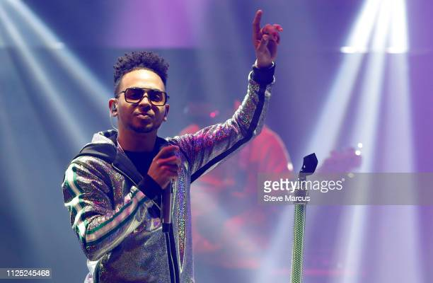 Ozuna performs during Calibash Las Vegas at TMobile Arena on January 26 2019 in Las Vegas Nevada