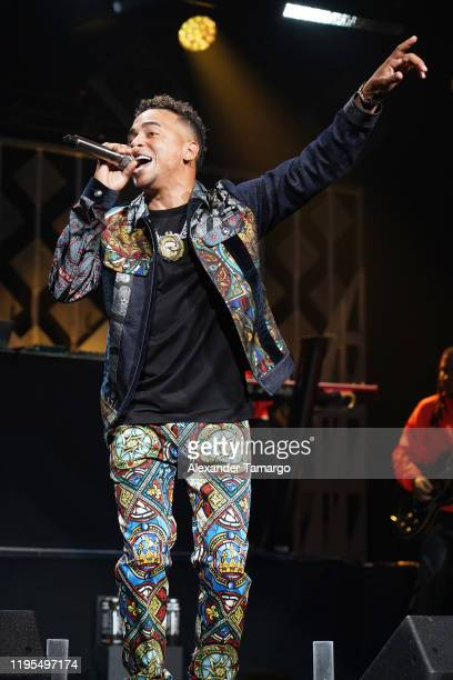 Ozuna performs on stage during Y100's Jingle Ball 2019 Presented by Capital One at BB&T Center on December 22, 2019 in Sunrise, Florida.