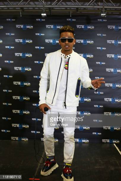 Ozuna receives six awards as part of 2019 Premios Tu Musica Urbano at Coliseo Jose M Agrelot on March 21 2019 in San Juan Puerto Rico