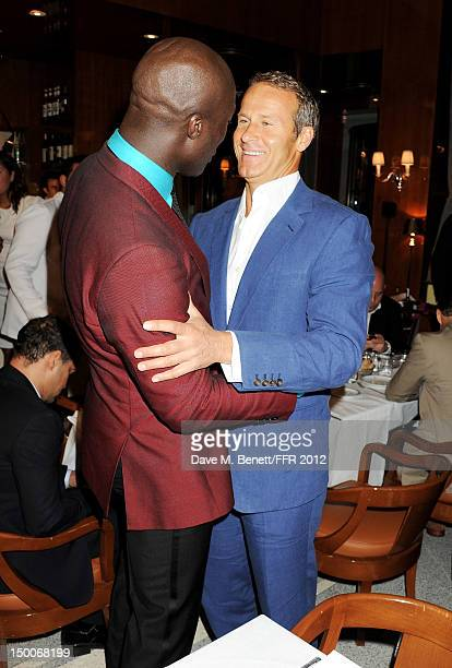 Ozwald Boateng and Vladislav Doronin attend as Naomi Campbell hosts an Olympic Celebration Dinner in partnership with Fashion For Relief Interview...