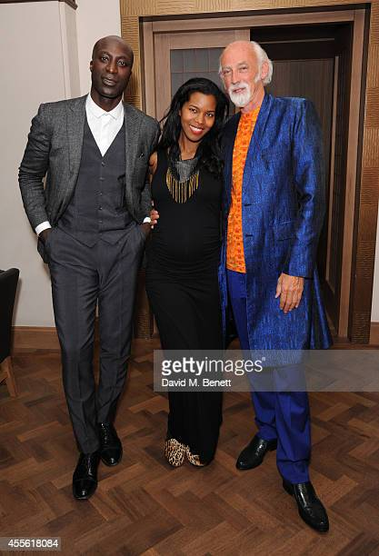 Ozwald Boateng Ashley Shaw Scott Adjaye and Ross Lovegrove attends the STANDSEVEN party hosted by David Adjaye and Ross Lovegrove at The Club at Cafe...