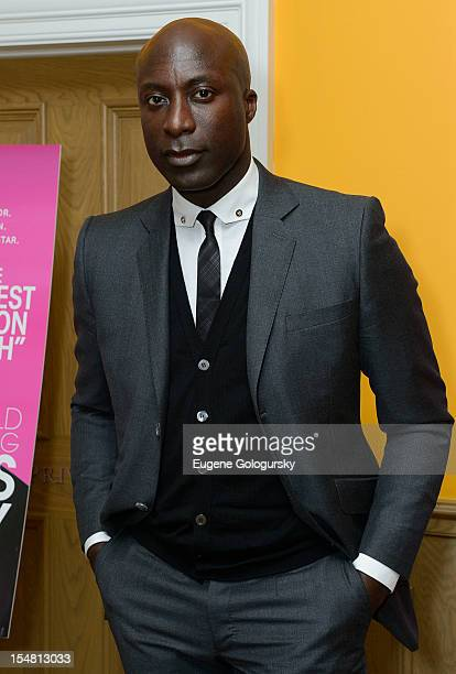 Ozwald Boateng attends A Man's Story New York Premiere at Crosby Street Hotel on October 26 2012 in New York City