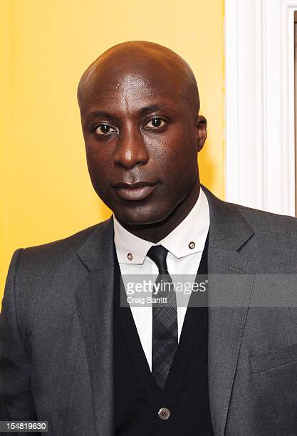 Ozwald Boateng attends the 'A Man's Story' New York Premiere at Crosby Street Hotel on October 26 2012 in New York City