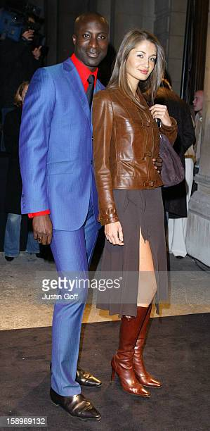 Ozwald Boateng Attends The 'Giorgio Armani A Retrospective' Gala Private View At London'S Royal Academy Of Arts