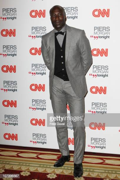 Ozwald Boateng attends the launch of 'Piers Morgan Tonight' on CNN at Mandarin Oriental Hyde Park on December 7 2010 in London England