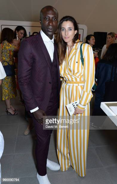 Ozwald Boateng attends the launch party for the inaugural Issue of 'Drugstore Culture' at Chucs Serpentine on July 10 2018 in London England