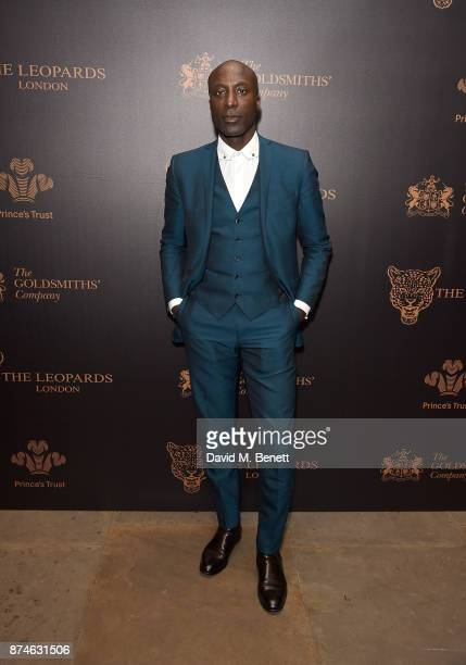 Ozwald Boateng attends the Leopard Awards in Aid of the Prince's Trust at Goldsmith's Hall on November 15 2017 in London England