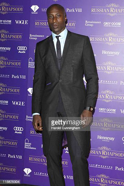 Ozwald Boateng during Russian Rhapsody Fundraising Dinner Arrivals at Old Billingsgate Market in London Great Britain