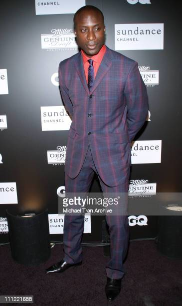 Ozwald Boateng during Sundance Channel GQ Magazine and Miller Genuine Draft Presents 'House of Boateng' Arrivals at Museum of Television and Radio in...