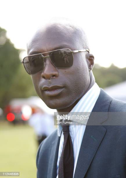 Ozwald Boateng during The Gulf Cooperation Council Trophy June 20 2007 at Guards Polo Club in Windsor Great Britain