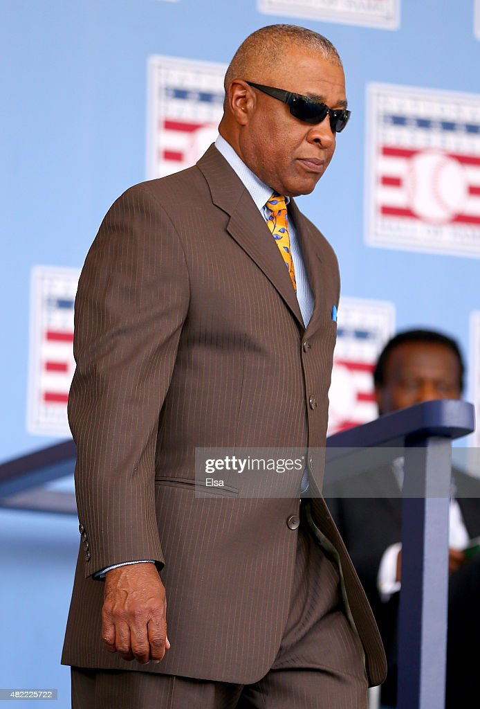 Ozzie Smith attends the Hall of Fame Induction Ceremony at National Baseball Hall of Fame on July 26, 2015 in Cooperstown, New York. Craig Biggio,Pedro Martinez,Randy Johnson and John Smoltz were inducted in this year's class.