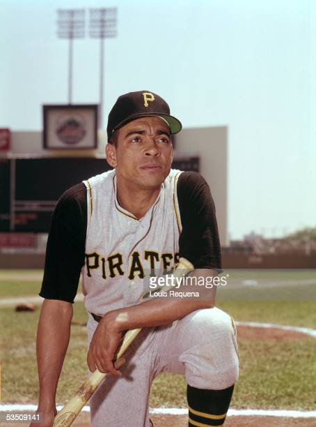 Ozzie Virgil of the Pittsburgh Pirates poses for a 1965 MLB season portrait