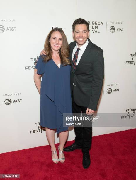 Ozzy Inguanzo attends the Bathtubs Over Broadway screening during 2018 Tribeca Film Festival at BMCC Tribeca PAC on April 21 2018 in New York City