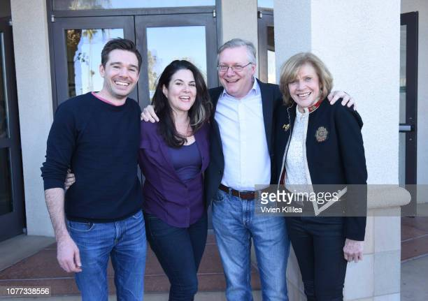 Ozzy Inguanzo Dava Whisenant Steve Young and Melody Rogers attend a screening of Bathtubs Over Broadway at the 30th Annual Palm Springs International...