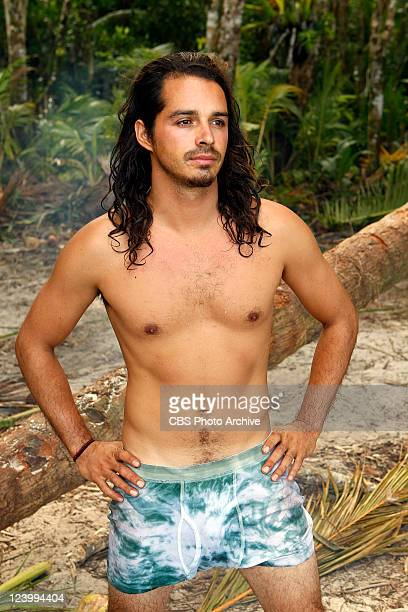 Ozzy Lusth during the series premier of SURVIVOR SOUTH PACIFIC Wednesday September 14 on the CBS Television Network