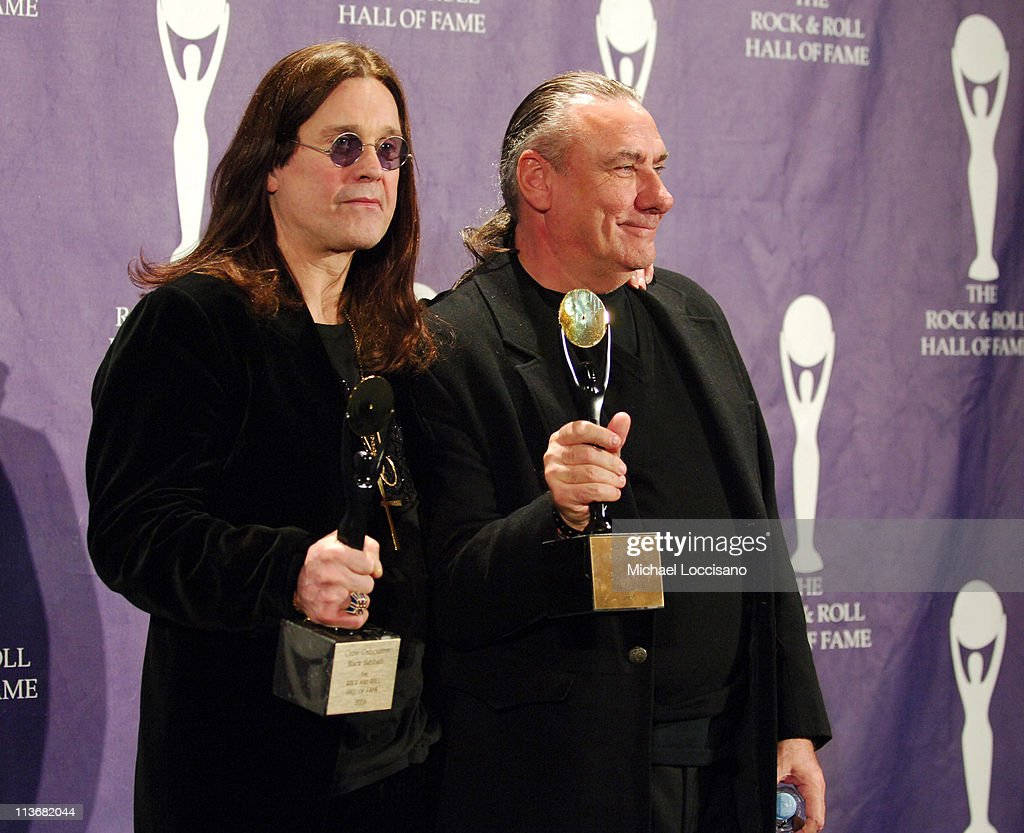 21st Annual Rock and Roll Hall of Fame Induction Ceremony - Press Room : News Photo