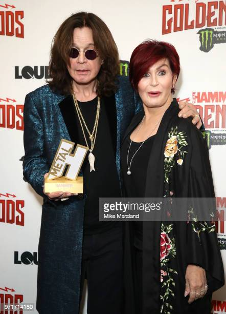 Ozzy Osbourne and Ozzy Osbourne attend the Metal Hammer Golden God Awards at Indigo at The O2 Arena on June 11 2018 in London England