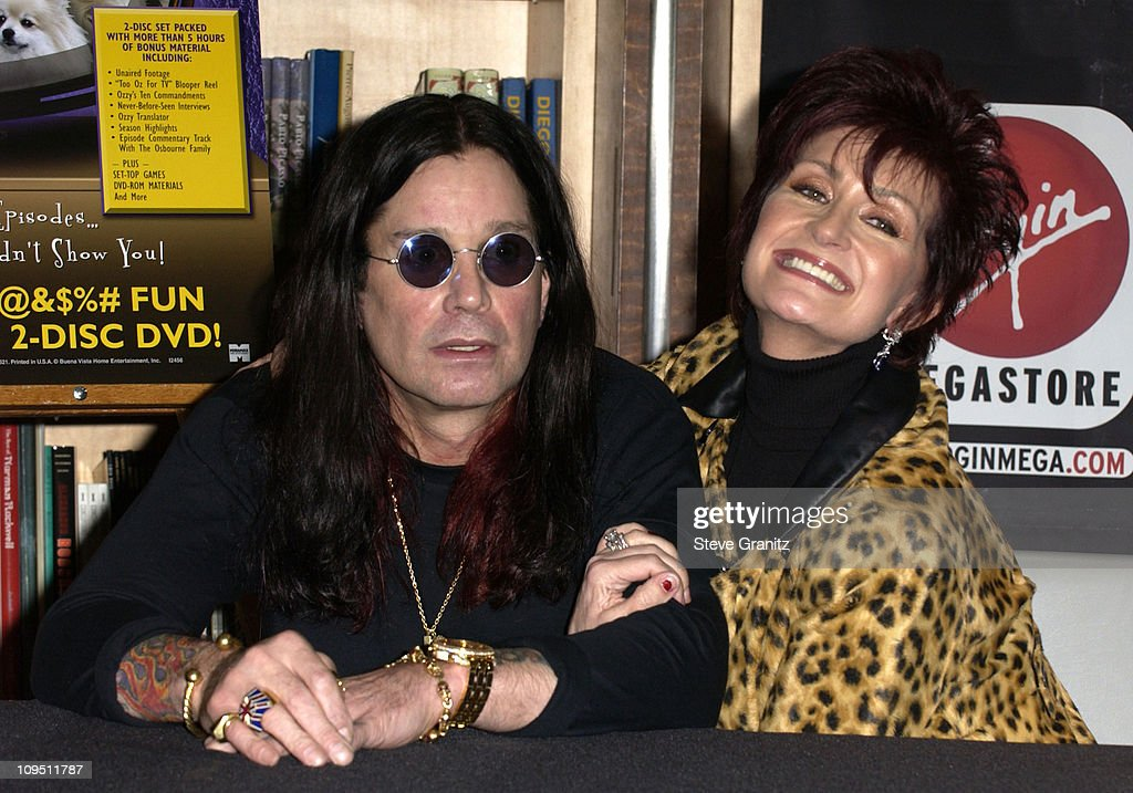 """The Osbournes In-Store Appearance for the Release of """"The Osbournes First Season"""" DVD : News Photo"""