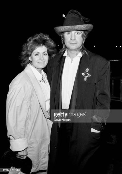 Ozzy Osbourne and wife Sharon Osbourne circa 1985
